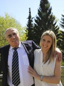 Heinrich und Alexandra Leitl
